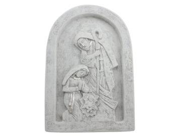 Imagen Cemento exteriores Sagrada Familia con marco 30x20cm - frente