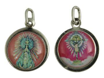 Medalla Virgen y Señor del Milagro de Salta