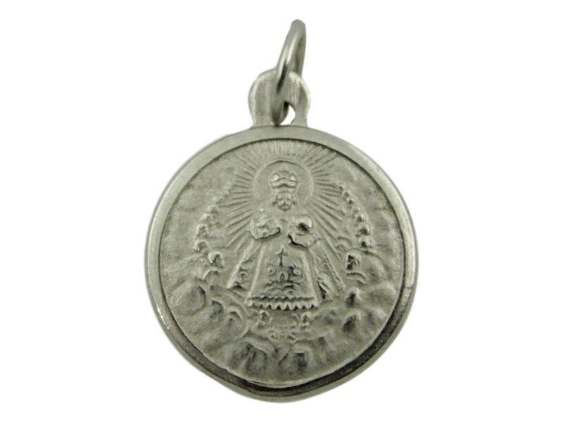 Medalla Alpaca del Niño Jesus de Praga