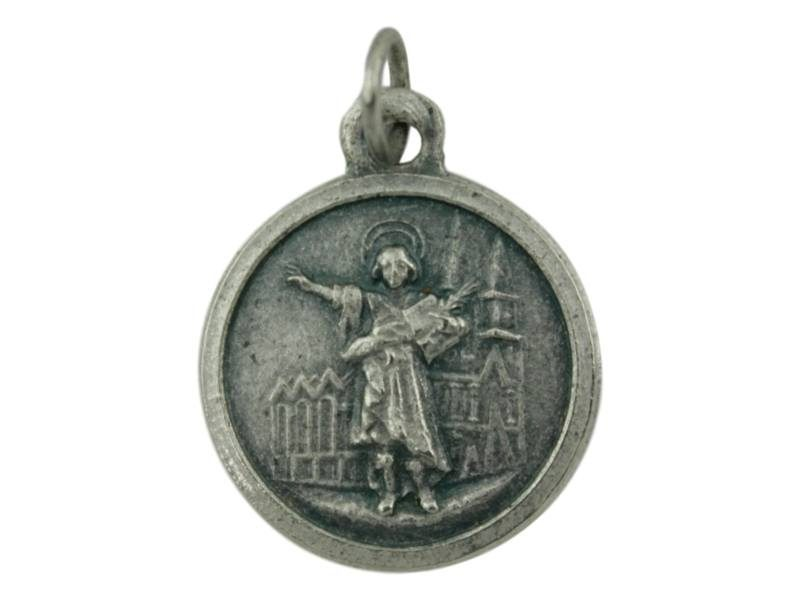 Medalla de alpaca de San Pancracio