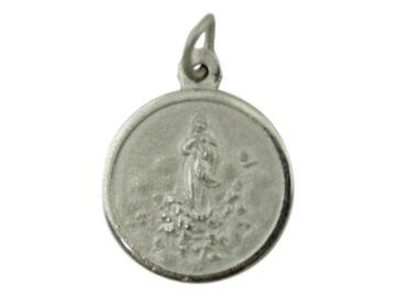 Medalla Alpaca Virgen de la Inmaculada Concepcion de Maria