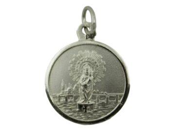 Medalla Alpaca Virgen Del Pilar