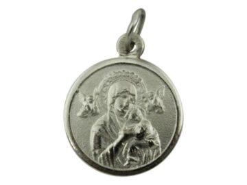 Medalla Alpaca Virgen del Perpetuo Socorro