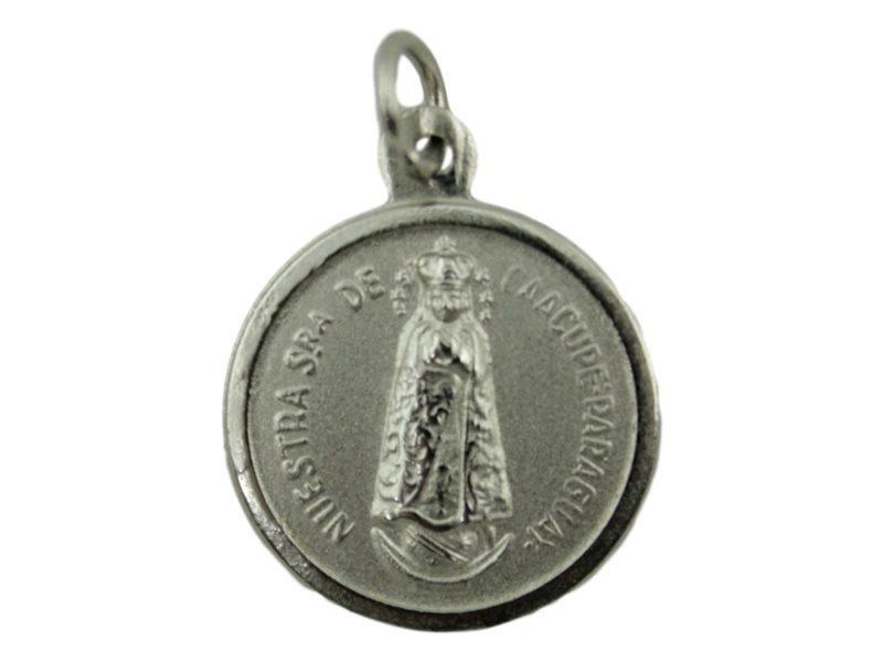 Medalla Alpaca Nuestra Señora de Caacupe