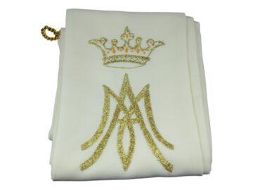 Estola Diaconal Reversible con borado dorado