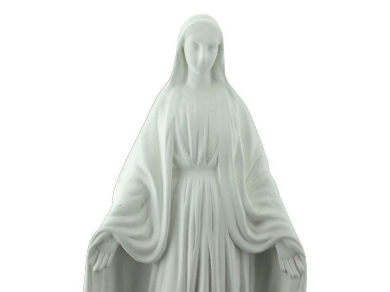 Estatua Cemento Medalla Milagrosa zoom
