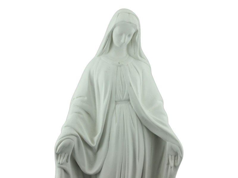 Estatua de cemento Virgen de la Medalla Milagrosa zoom