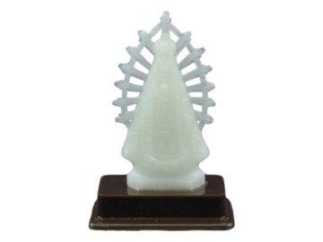 Estatua luminosa Virgen de Lujan
