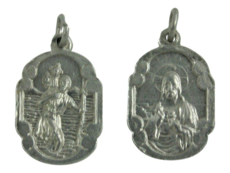 Medalla aluminio San Cristobal