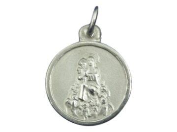 Medalla Alpaca Virgen de los Angeles