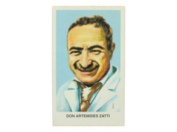 Estampita Artimedes Zatti