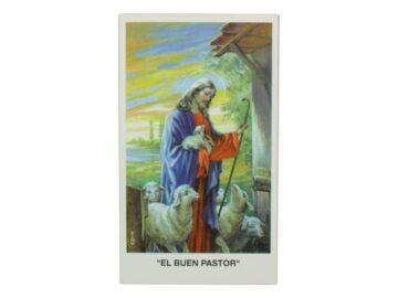 Estampita El Buen Pastor