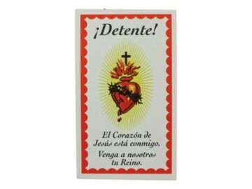 Estampita DETENTE