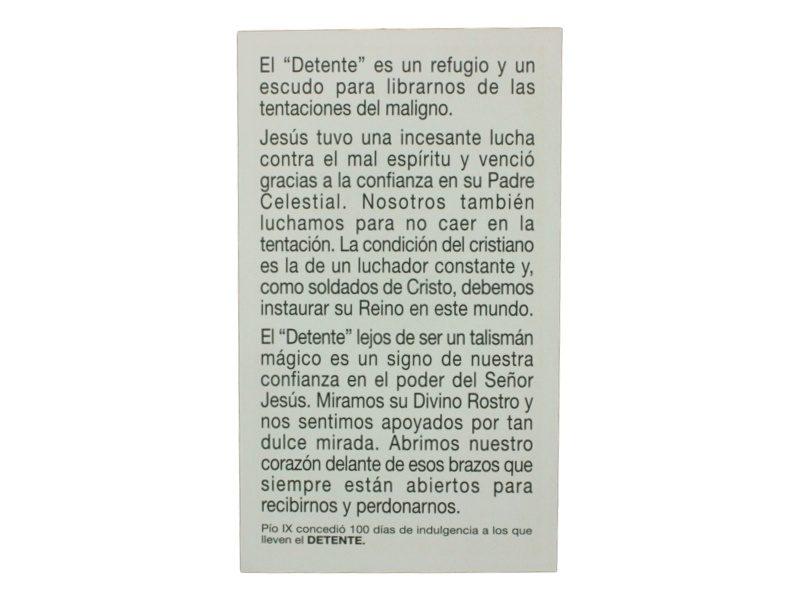 Oracion DETENTE