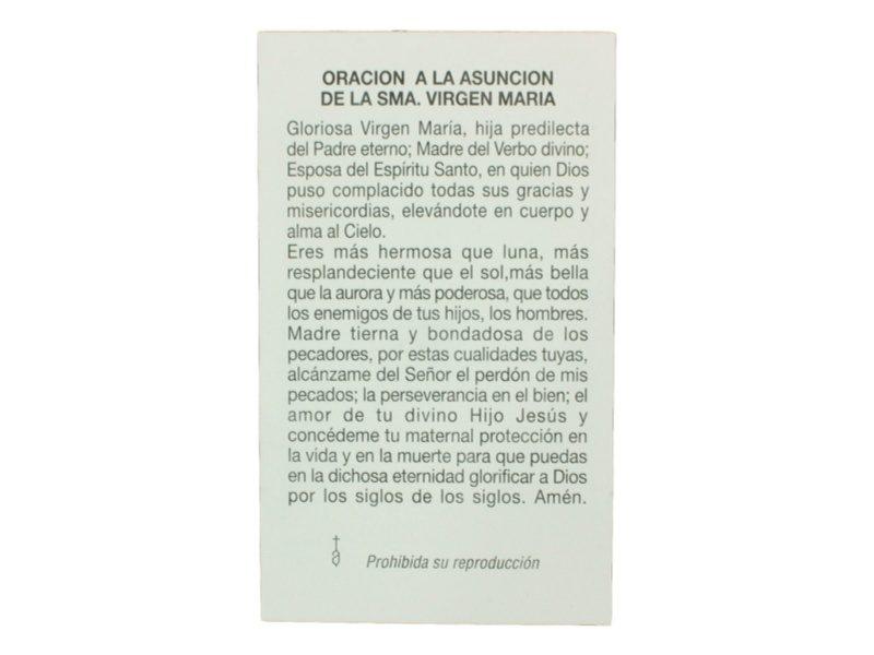 Oracion Asuncion de la Santisima Virgen