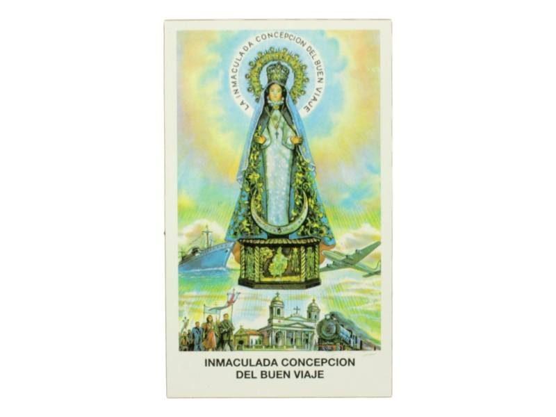 Estampita Nuestra Señora del Buen Viaje