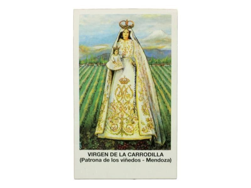 Estampita Virgen de la Carrodilla