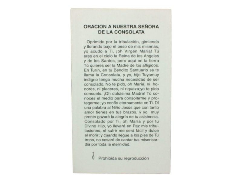 Oracion Virgen de la Consolata