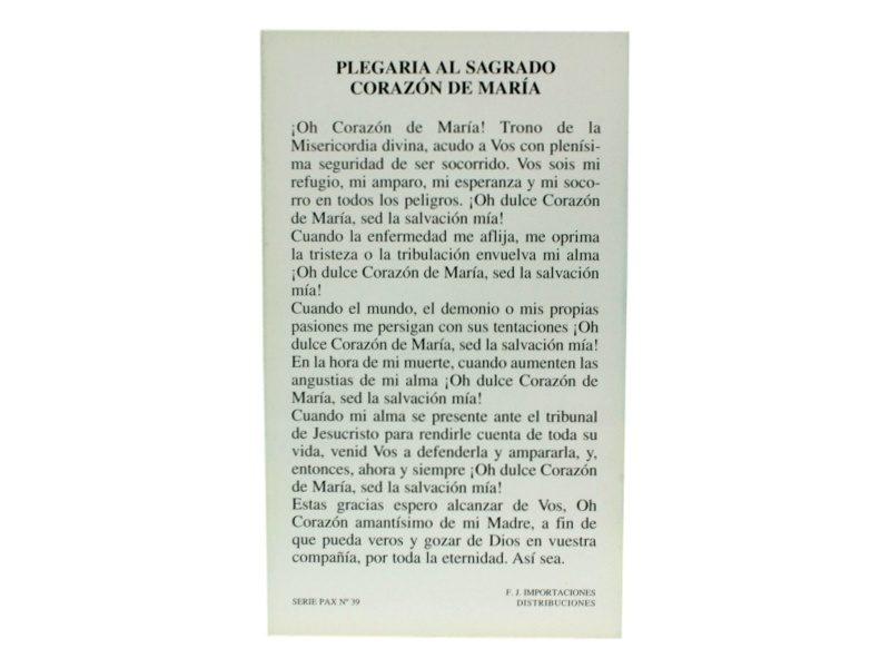 Oracion Sagrado Corazon de Maria