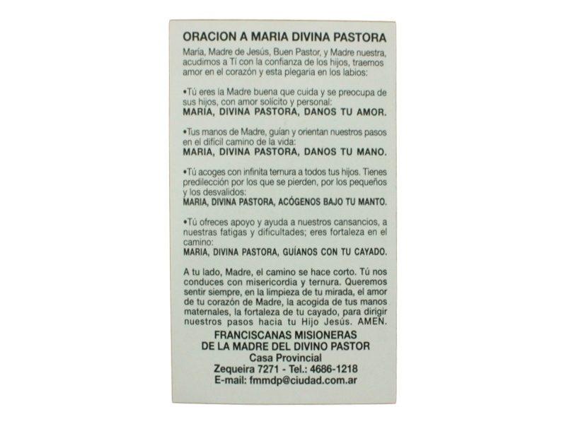 Oracion a Maria Divina Pastora