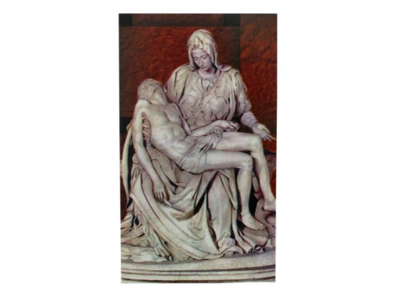 Estampita Nuestra Señora de La Piedad
