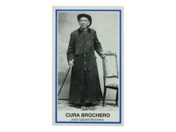 Estampita del Cura Brochero