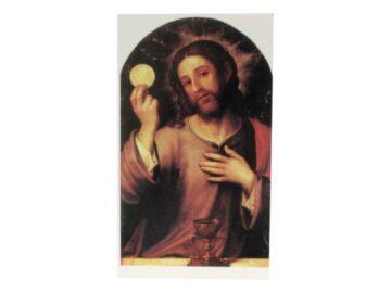 Estampita Corpus Christi