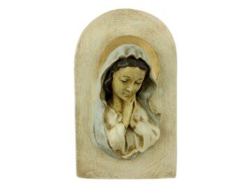 Imagen_de_ceramica_Virgen_Ni_a_con_marco_20x12cm_-_frente