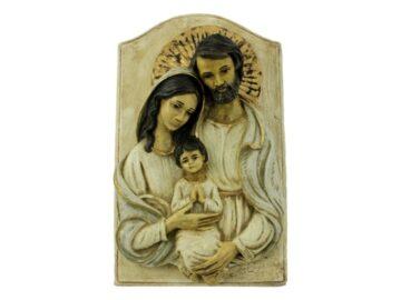 Busto_de_ceramica_Sagrada_Familia_con_marco_24x15cm_-_frente