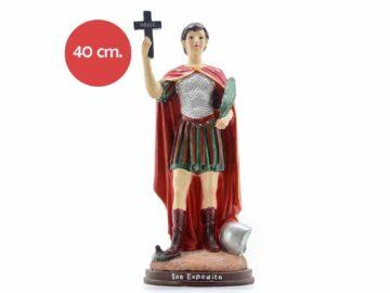 Estatua Resina San Expedito 40cm