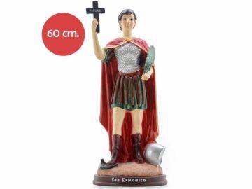 Estatua Resina San Expedito 60cm