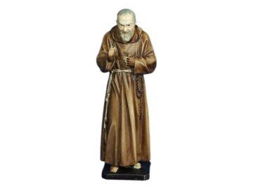 Estatua resina italiana de San Padre Pio de 20cm de alto