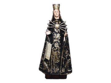 Estatua resina italiana de la Virgen de los Dolores de 28cm de alto