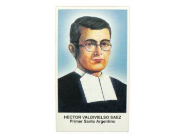 Estampita Hector Valdivieso Saez frente