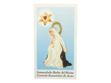 Estampita Virgen Nuestra Señora del Cerro frente