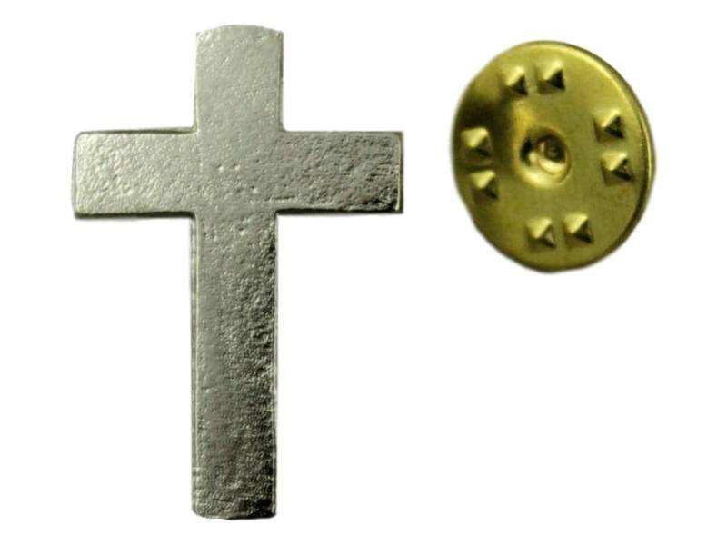 Pin_prendedor_plateado_Cruz_-_frente