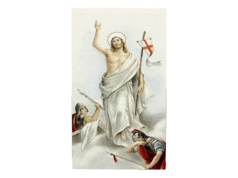 Estampita_santoral_Resurrecion_de_Jesucristo_-_frente