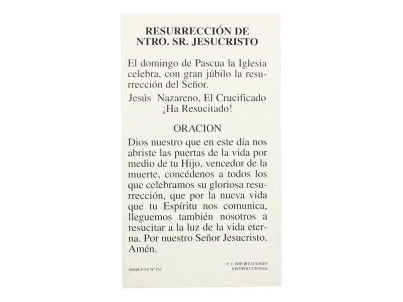Estampita_santoral_Resurrecion_de_Jesucristo_-_oracion