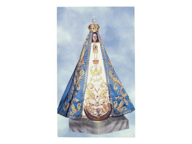 Estampita_santoral_Nuestra_señora_del_Valle_-_frente