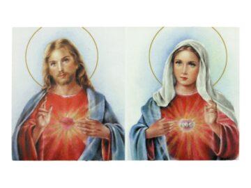 Estampita_santoral_Sagrado_Corazon_de_Maria_y_Jesus_-_frente