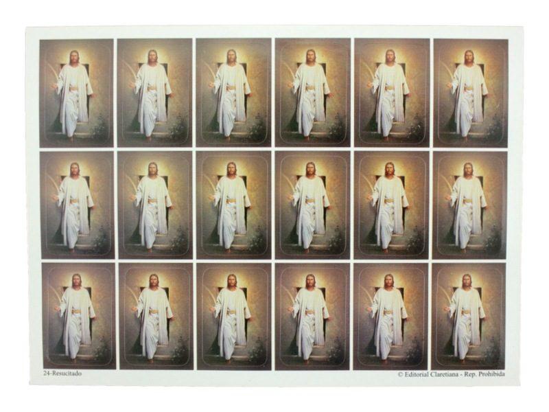 Plancha_18_stickers_Cristo_Resucitado