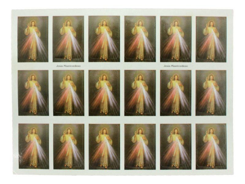 Plancha_18_stickers_Jesus_Misericordioso