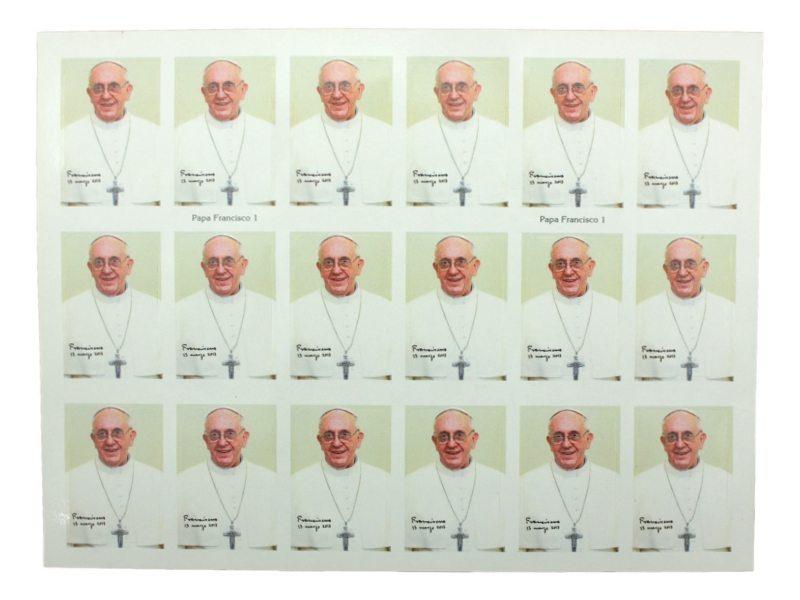 Plancha_18_stickers_Papa_Francisco_-_Modelo_B