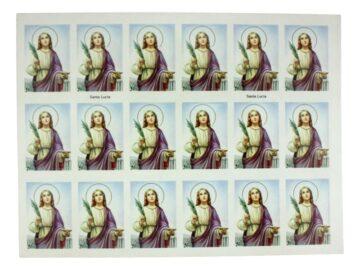 Plancha_18_stickers_Santa_Lucia