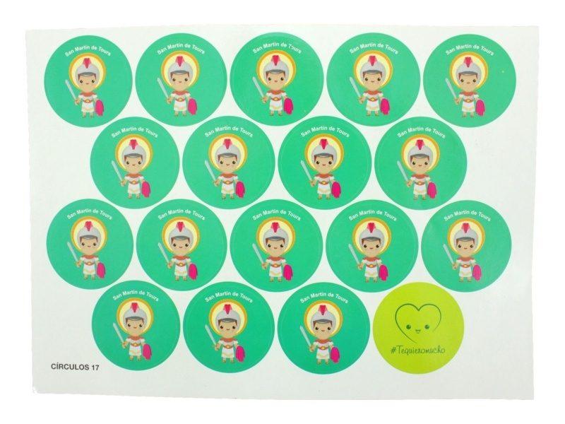 Plancha_18_stickers_infantiles_San_Martin_de_Tours