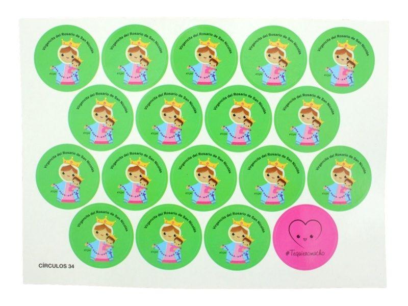 Plancha_18_stickers_Virgen_del_Rosario_de_San_Nicolas_naif