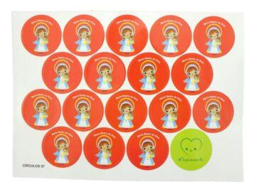 Plancha_18_stickers_Maria_Madre_de_Dios_infantil