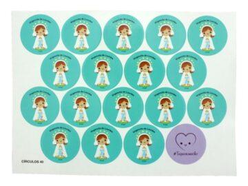 Plancha_18_stickers_Virgen_de_Lourdes_infantil