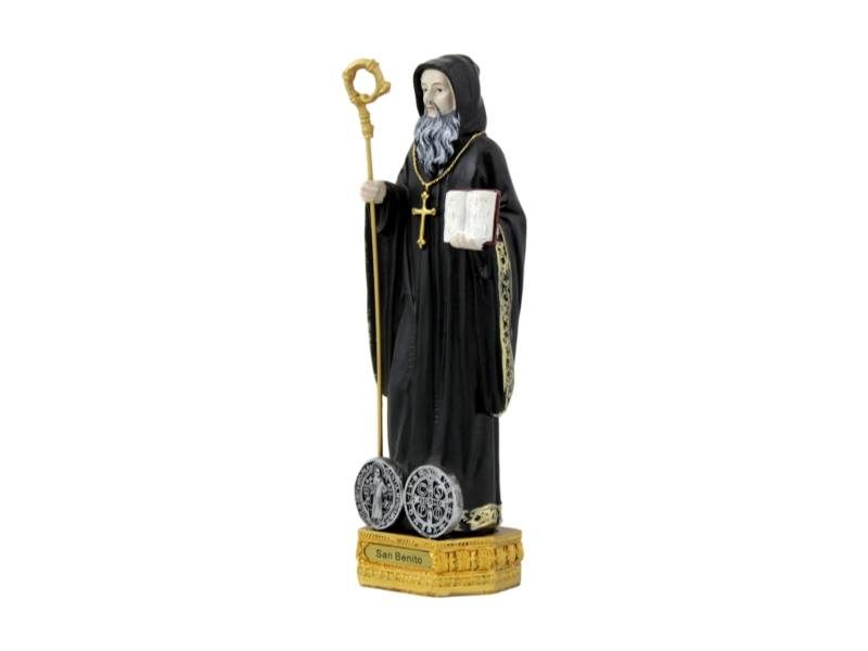 Estatua_Resina_San_Benito_22cm_-_derecha