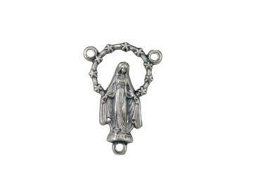 Centro_rosario_de_metal_N4_Silueta_Medalla_Milagrosa_-_frente_y_dorso